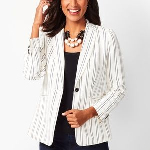 NWT A New Day White & Blue Stripe Suit